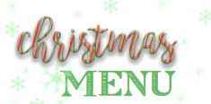 Christmas Menu available - book now!